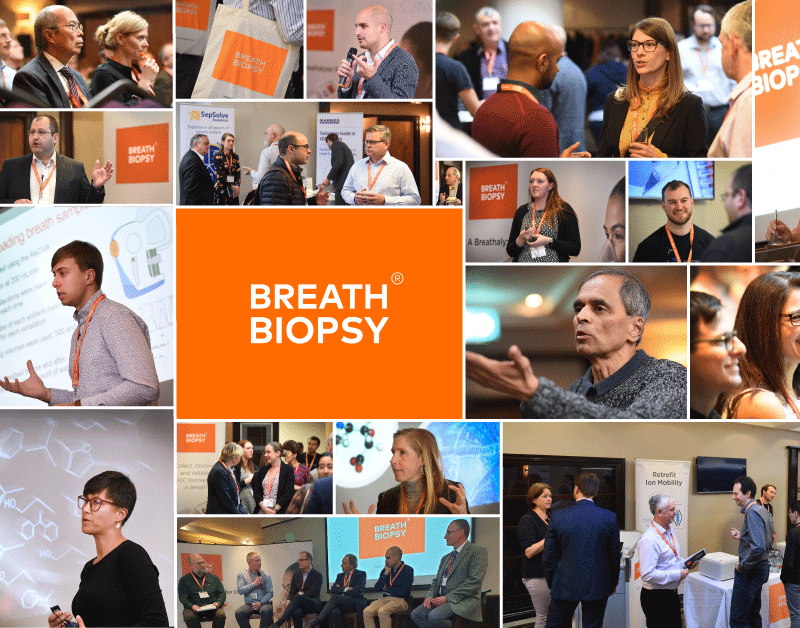 Breath Biopsy Conference 2019 Montage of Photos