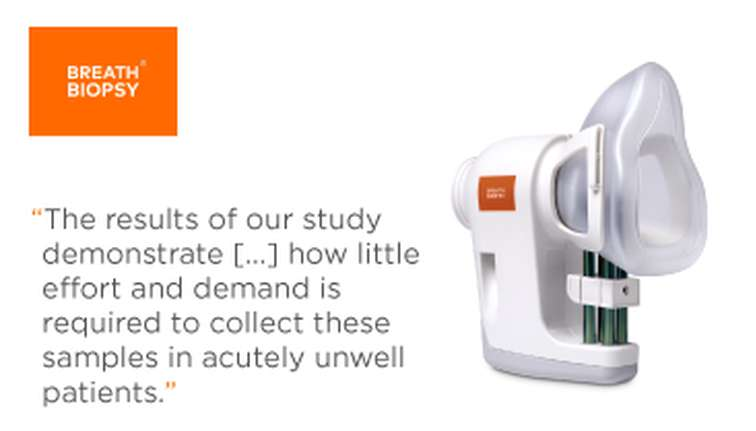 The results of our study demonstrate how little effort and demand is required to collect these samples in acutely unwell patients.