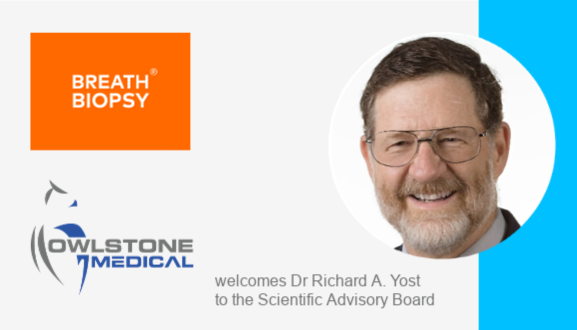 Richard Yost Joins Owlstone Medical's SAB