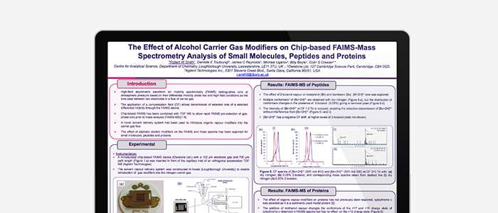 The Effect of Alcohol Carrier Gas Modifiers on Chip-based FAIMS-Mass Spectrometry Analysis of Small Molecules, Peptides and Proteins thumb