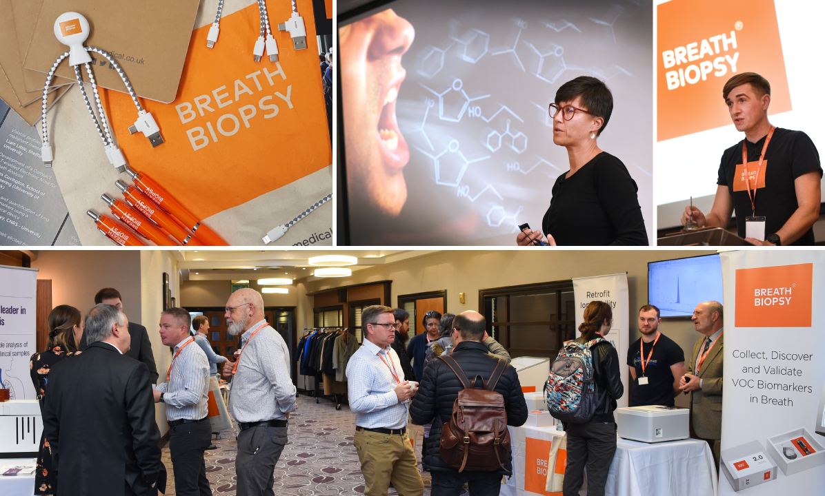 Picture collage from the Breath Biopsy Conference 2019