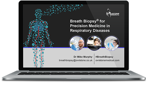 Breath Biopsy for Precision Medicine in Respiratory Diseases - On Demand Webinar